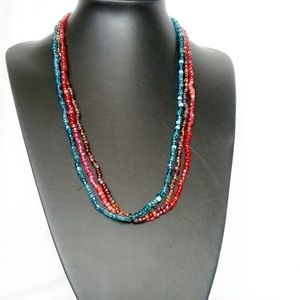 🎈3/$12 Three Layers Beads Necklace for Women